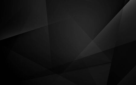 Illustration for Abstract black geometric dynamic presentation background - Royalty Free Image