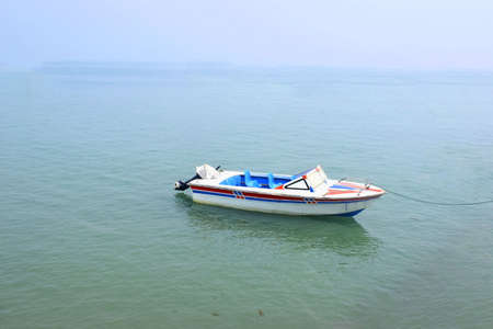 Photo for Small Water Speedboat in sea - Royalty Free Image