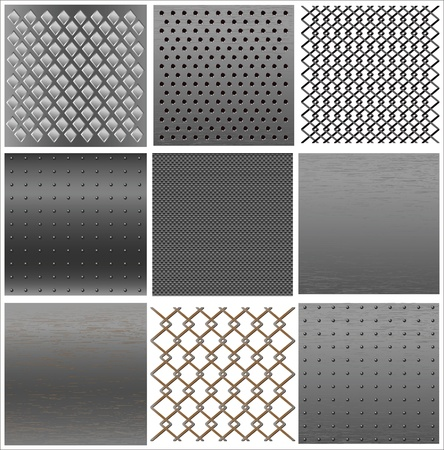 set texture of iron.