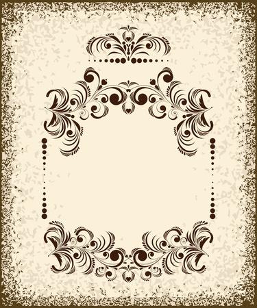 Illustration for Set of vintage design elements - Royalty Free Image