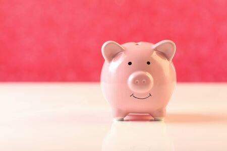 Photo pour Piggy Bank - concept of money savings - image libre de droit