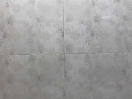 Photo for Floor or wall tiling for flooring work for an Kitchen or hall of an residential buildings in an construction of an building - Royalty Free Image
