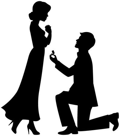 Foto de Marriage proposal - Imagen libre de derechos