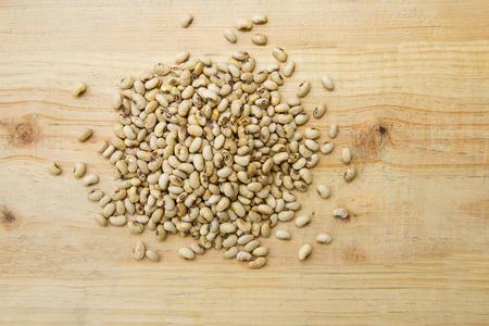 close up soy bean