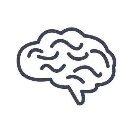 Illustration pour Brain icon - image libre de droit