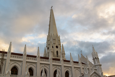 San Thome Basilica Cathedral in Chennai, Southern India