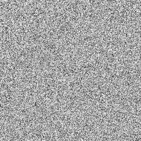 Illustration pour Static noise bad signal tv screen seamless pattern - image libre de droit