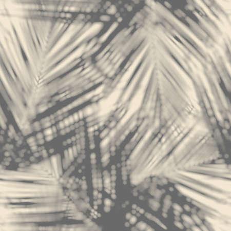 Photo pour Seamless abstract print of botanical leaf shadows - image libre de droit