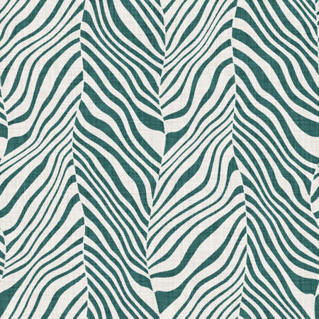 Photo for Seamless funky wavy chevron strip pattern for surface print. - Royalty Free Image
