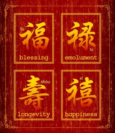 Happiness prosperity and longevity