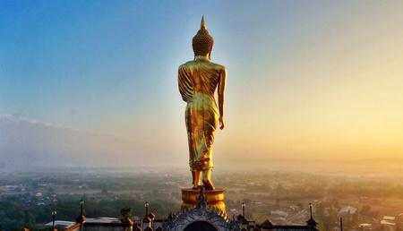 Wat phra thai khao noi nan province in thailand