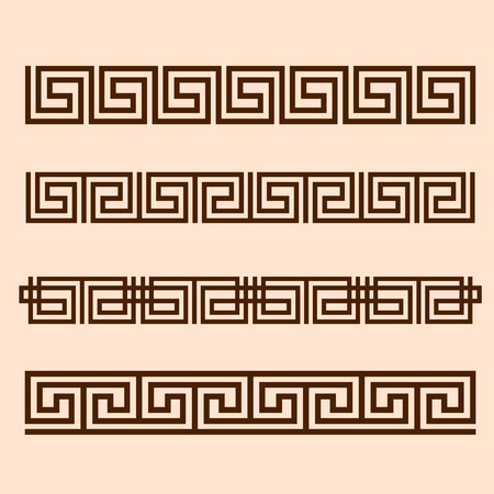 Vector Greek ornament.