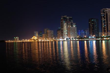 Sharjah City at Night