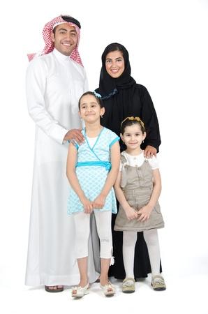 Photo pour Arab Family - image libre de droit