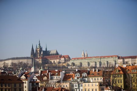 A cityscape of Prague, The Czech Republic