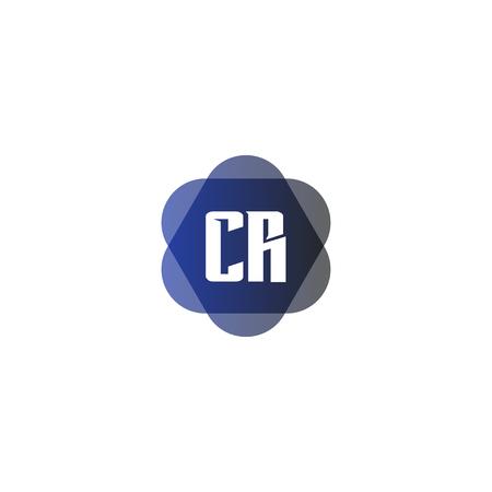 Initial Letter Logo CR Template Vector Design