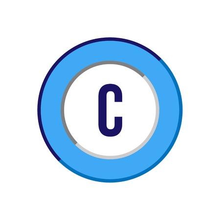 Foto für Initial Letter C Logo Template Vector Design - Lizenzfreies Bild
