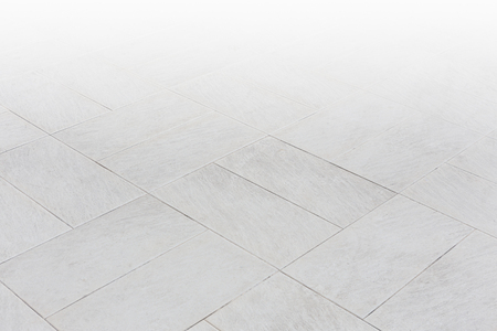 Stone pattern on tile floor with geometric line for background.