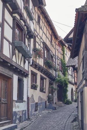 Street view of Riquewihr