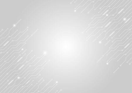 Ilustración de Vector background abstract technology communication concept. - Imagen libre de derechos