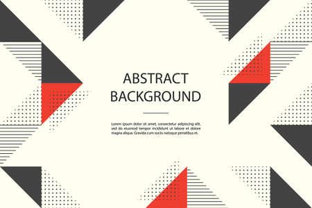 Illustration pour abstract background with geometric shapes. - image libre de droit