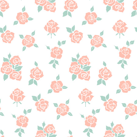 Vintage Rose Pattern Ideal For Printing Onto Fabric And