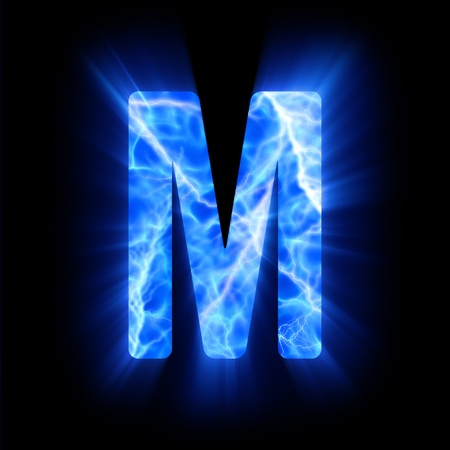 Plasma font  M