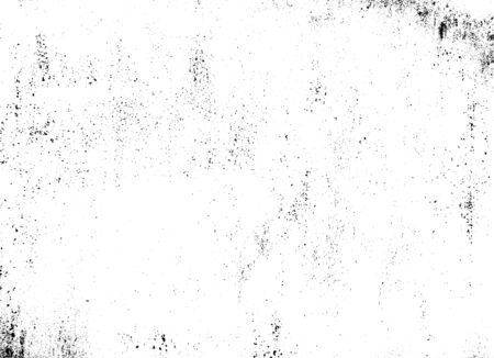 Illustration pour Rough black and white texture vector. Distressed overlay texture. Grunge background. Abstract textured effect. Vector Illustration. Black isolated on white background. EPS10 - image libre de droit