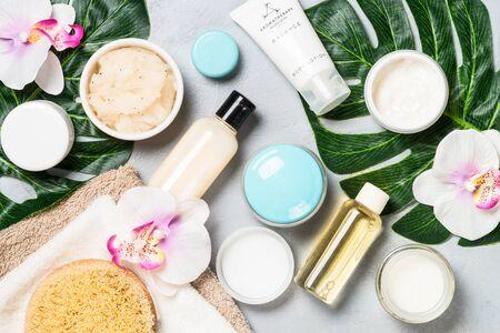 Photo pour Natural cosmetics, wellness and spa product. - image libre de droit