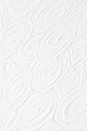 Foto de White background. Texture of paint and plaster on the wall with patterns and stripes. - Imagen libre de derechos