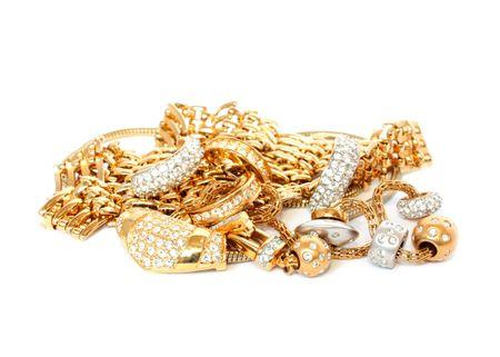 luxury golden accessories