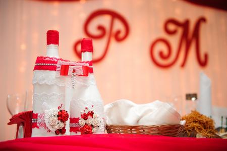 Photo pour wedding banquet in a restaurant, party in a restaurant - image libre de droit