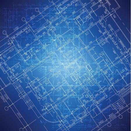 Urban Blueprint architectural background