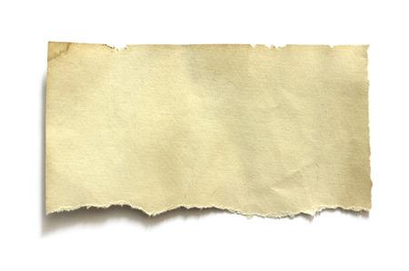 Foto de Piece of torn paper, space for copy - Imagen libre de derechos