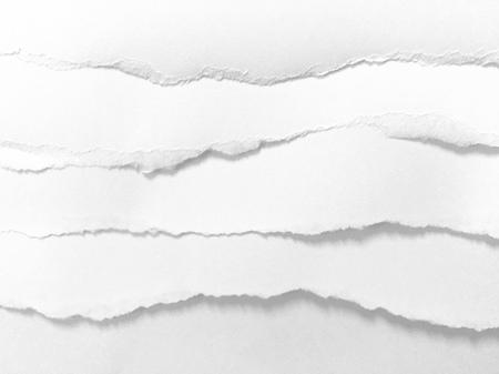 Photo pour pieces of torn paper texture background, copy space. - image libre de droit