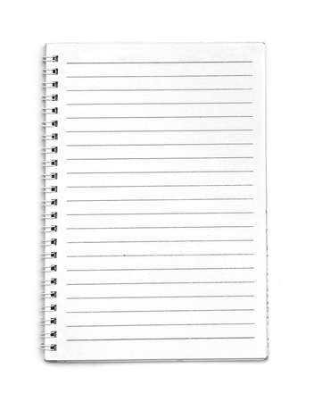 Photo for Blank line notebook - Royalty Free Image