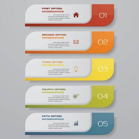 Illustration pour Design clean number banners template. Vector. - image libre de droit