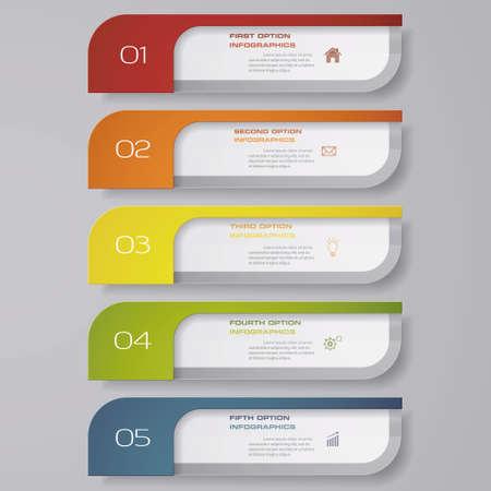 Illustration pour Design clean number banners template. Vector. EPS 10. - image libre de droit