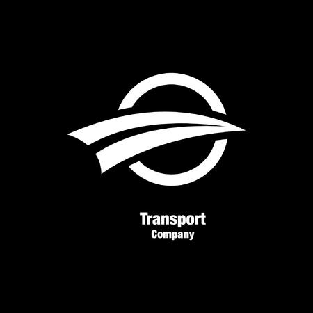 Illustration pour transport company logo - image libre de droit