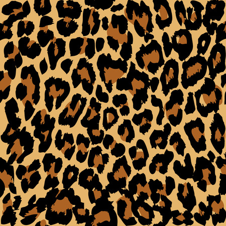 Photo pour Leopard pattern. Vector. - image libre de droit
