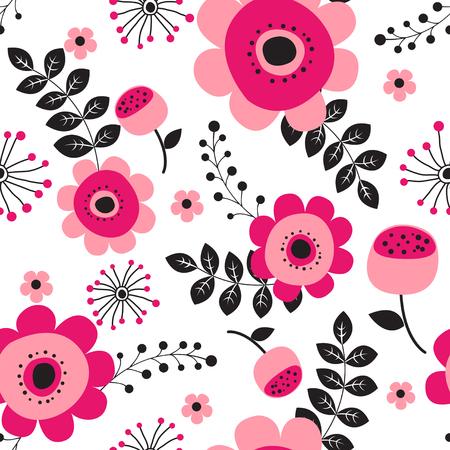 Illustration pour Spring flowers seamless pattern Small floral pattern floral illustration and floral vector pattern flower pattern fabric - image libre de droit