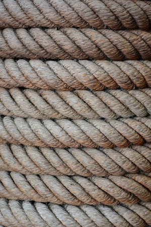 Close up rope texture.