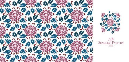 Illustration pour Flower seamless pattern. - image libre de droit
