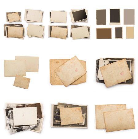 Photo pour Old photo frame. Vintage paper. Retro card - image libre de droit