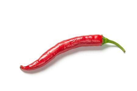 Foto für red chili pepper isolate on white with clipping path - Lizenzfreies Bild