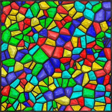 High quality seamless stained glass background