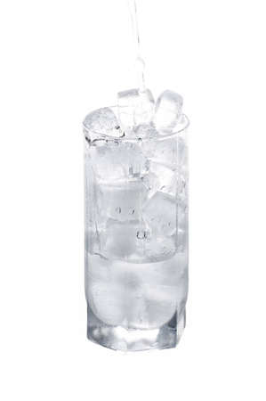 iced water isolated