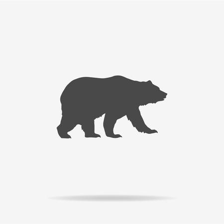 Illustration pour Bear icon. Vector concept illustration for design. - image libre de droit