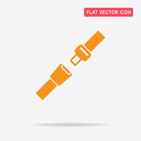 Illustration pour Safety belt icon. Vector concept illustration for design. - image libre de droit