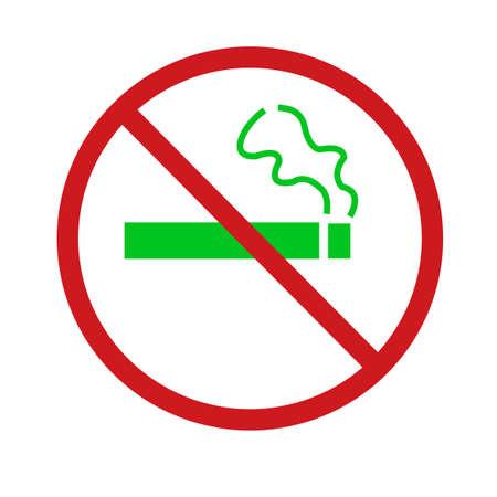 Illustration pour Ban on Menthol Cigarettes - image libre de droit